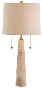A photo of the Sidney Marble Table Lamp by Arteriors Home, available in Lighting at Delicious Designs furniture shop in Hingham.